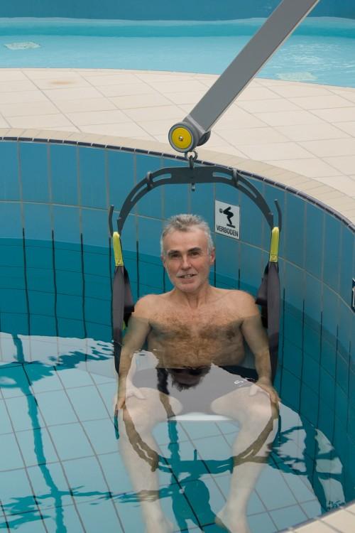Wheelchair-to-Water™ Pool Lift - SureHands