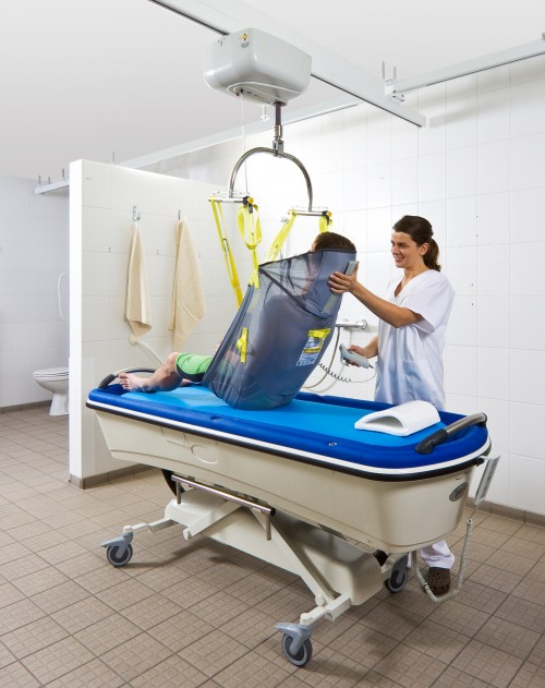 Showerbathing Trolley SureHands - Disabled changing table
