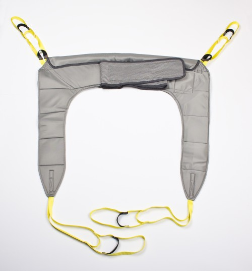 Hygiene sling Suitable for all transfers, and ideal for the toilet