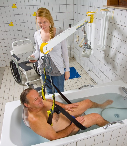 SureHands - Classic spreader bar , Wall-to-Wall™ lift systems , Seat sling PVC