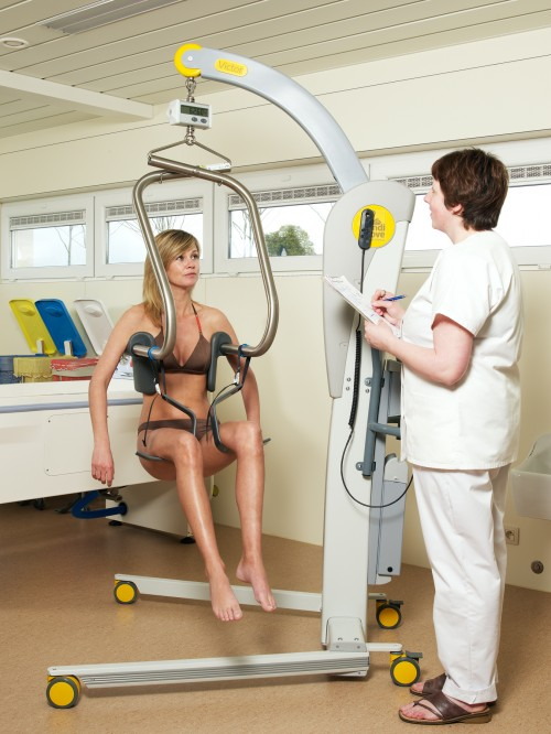 SureHands -  - Mobile Lifts with an attendant - Mobile lift 2600 (Victor) , Digital scale