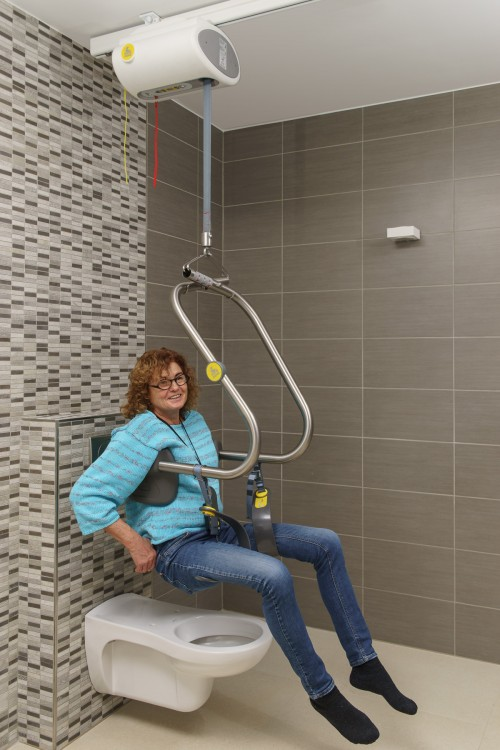 SureHands - SureHands® Body Support - Ideal for the toilet - SureHands® Body Support , Ceiling motor