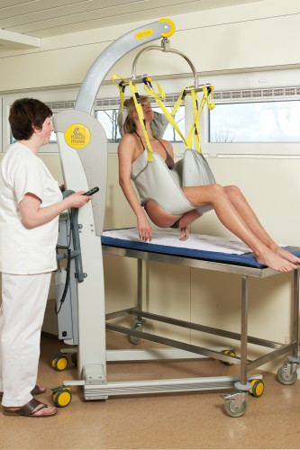 Mobile lift 2600 (Victor) , Bathing sling , Bathing sling with head support, Slings