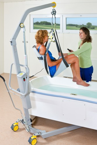 Handi-Move  - Classic spreader bar , Mobile lift 1640 , Seat sling PVC, Mobile lifts