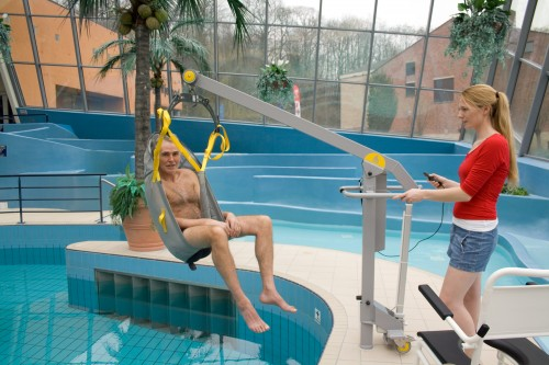 Classic spreader bar , Wheelchair-to-Water™ Pool Lift
