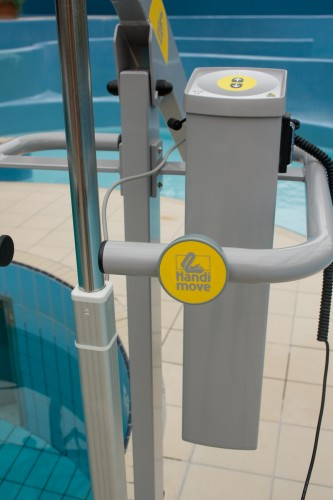 Wheelchair-to-Water™ Pool Lift
