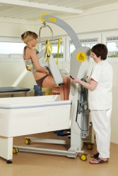 Mobile lift 2600 (Victor) , Bathing sling
