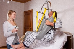 Standard spreader bar , Wall-to-Wall™ lift systems , Hygiene sling