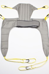 Hygiene sling , Hygiene sling with head support