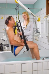 Handi-Move  - Classic spreader bar , Wall-to-Wall™ lift systems , Seat sling PVC